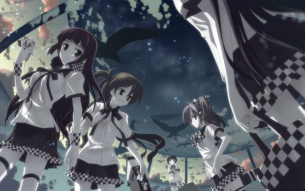 Tags: Anime, Yuuki Tatsuya, Dj Max, HD Wallpaper, Scan, PNG Conversion, Wallpaper, Pixiv