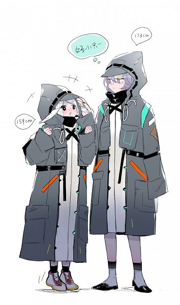 Tags: Anime, Bici, Arknights, Doctor (Arknights)
