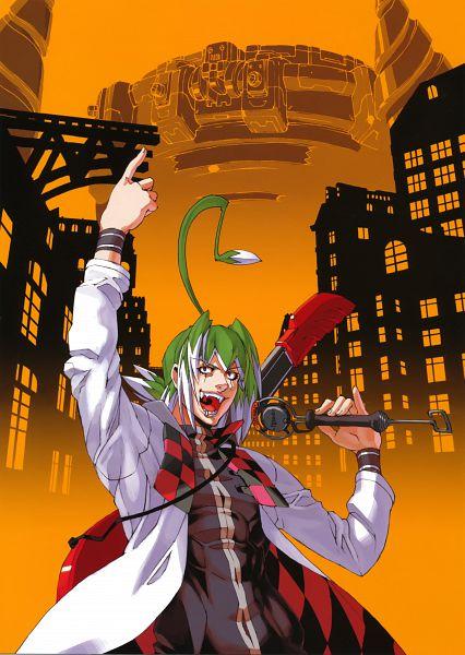 Tags: Anime, Niθ, Nitro+, Demonbane, Doctor West, Official Art