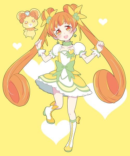 Tags: Anime, Pixiv Id 17226440, Dokidoki! Precure, Yotsuba Alice, Cure Rosetta, Lance (Dokidoki! Precure), Pixiv, Fanart, Fanart From Pixiv