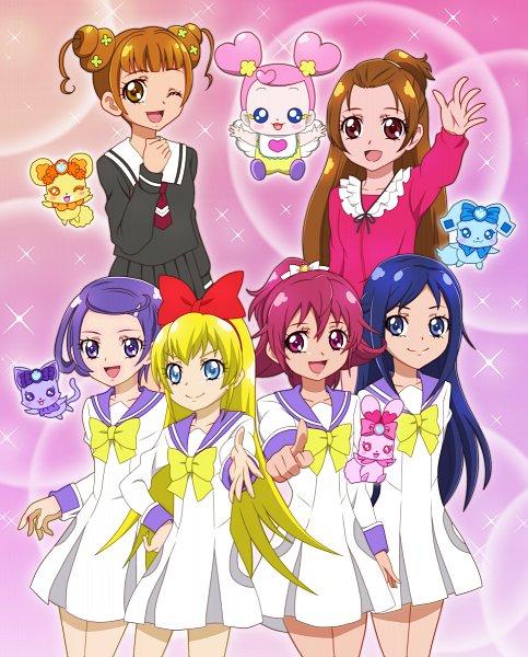 Tags: Anime, Pixiv Id 2917301, Dokidoki! Precure, Ai-chan (Dokidoki! Precure), Kenzaki Makoto, Raquel (Dokidoki! Precure), Yotsuba Alice, Charles (Dokidoki! Precure), Lance (Dokidoki! Precure), Aida Mana, Madoka Aguri, Davi (Dokidoki! Precure), Regina (Dokidoki)