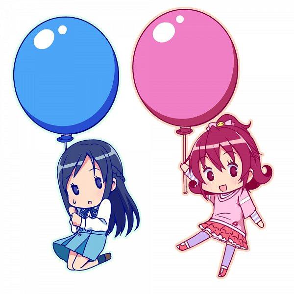 Tags: Anime, Sayousuke, Dokidoki! Precure, Hishikawa Rikka, Aida Mana, Fanart From Pixiv, Pixiv, Fanart