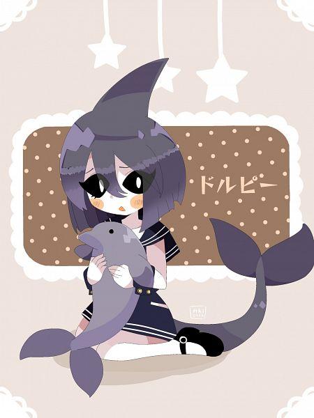 Tags: Anime, Oounabara to Wadanohara, Dolphi, Tumblr, Fanart, Fanart From Tumblr