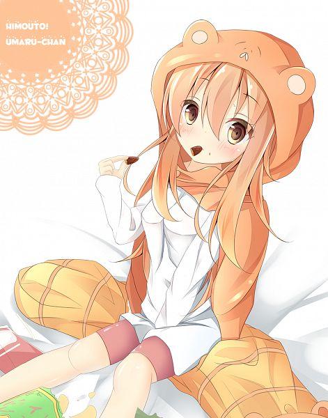 Tags: Anime, Pixiv Id 11441042, Himouto! Umaru-chan, Doma Umaru, PNG Conversion