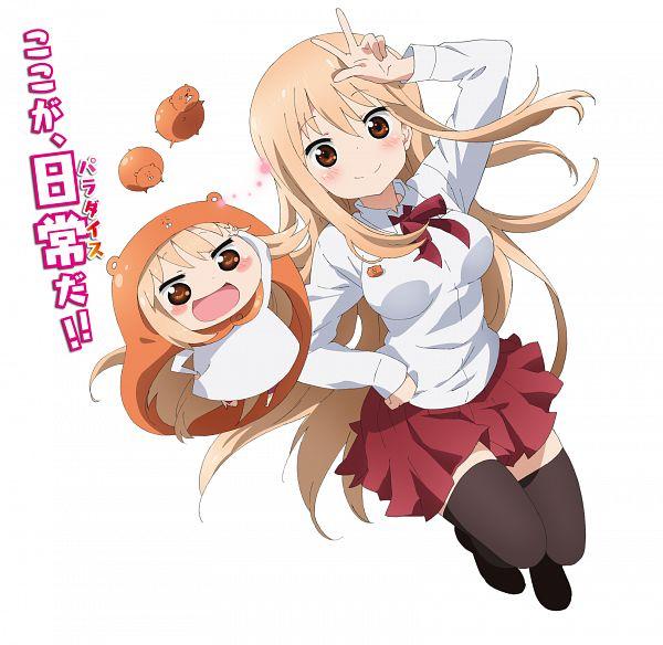 Tags: Anime, Takano Aya, Dogakobo, Himouto! Umaru-chan, Doma Umaru, PNG Conversion, Official Art