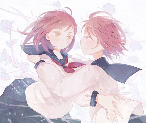 Tags: Anime, Domotolain, Original, Pixiv