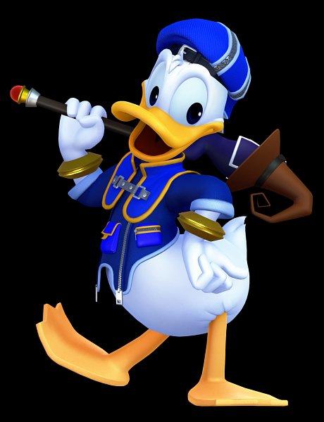 Tags: Anime, SQUARE ENIX, Kingdom Hearts III, Kingdom Hearts, Donald Duck, Official Art, 3D