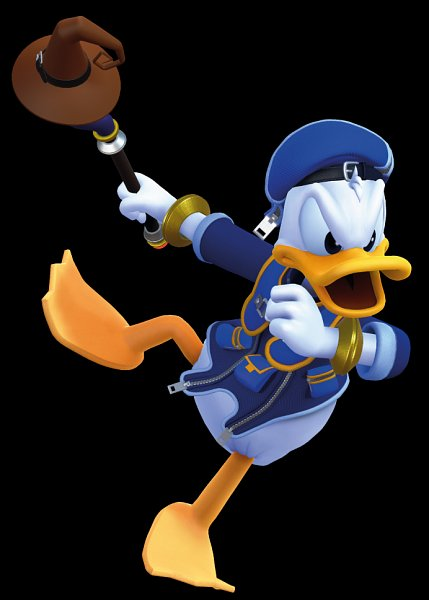 Tags: Anime, SQUARE ENIX, Kingdom Hearts III, Kingdom Hearts, Donald Duck, 3D, Official Art