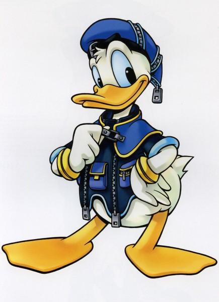 Tags: Anime, Nomura Tetsuya, SQUARE ENIX, Kingdom Hearts, Kingdom Hearts II, Donald Duck, Disney