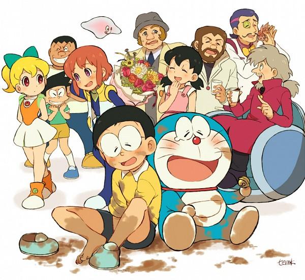 Tags: Anime, Temk, Doraemon, Minamoto Shizuka, Doraemon (Character), Nobi Nobita, Honekawa Suneo, Gouda Takeshi, Dirt