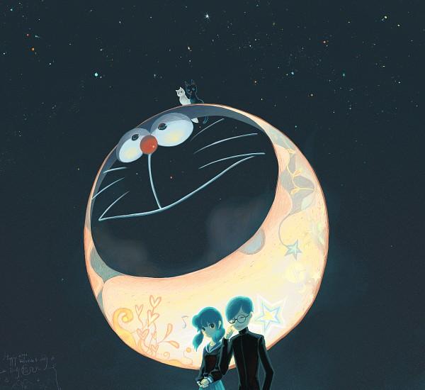 Tags: Anime, Doraemon, Minamoto Shizuka, Doraemon (Character), Nobi Nobita