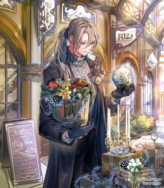 Tags: Anime, sila, Sid Story, Dorian (Sid Story), Official Art, Pixiv