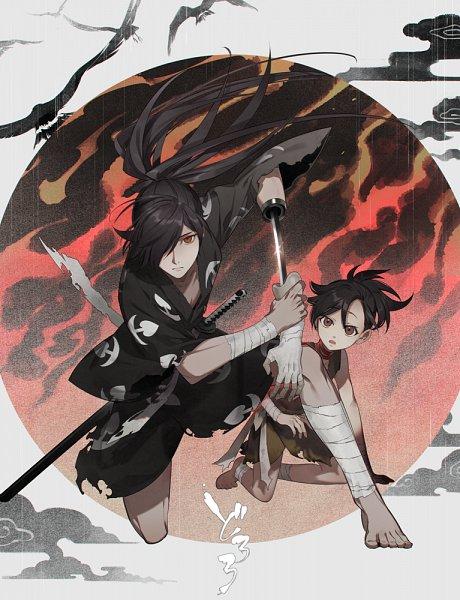 Tags: Anime, Kanamura Ren, Dororo (Manga), Hyakkimaru (Dororo), Dororo (Character)