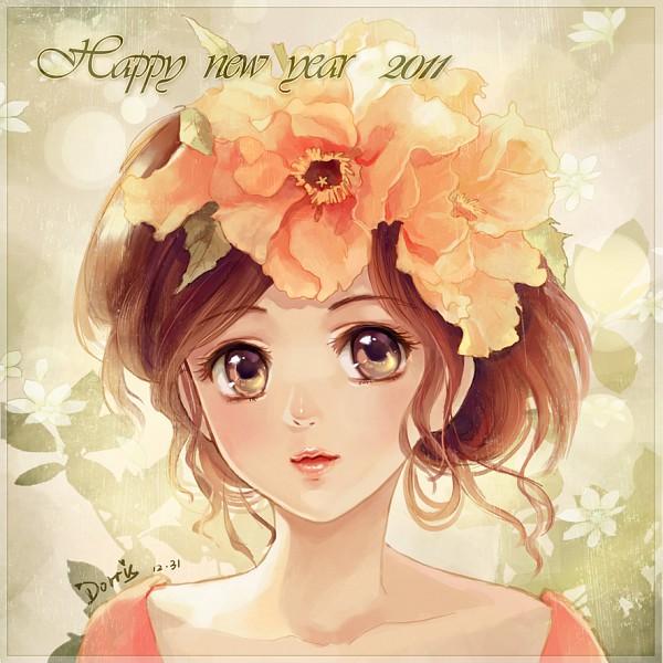 Tags: Anime, Dorris, Happy 2011, Pixiv