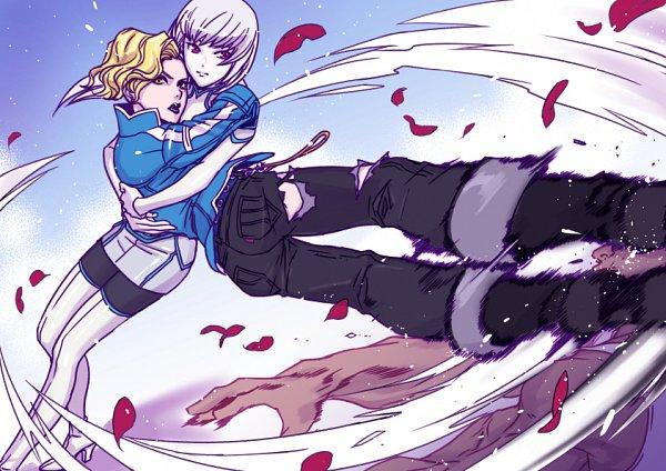 Tags: Anime, Pixiv Id 776043, Double Decker! Doug & Kirill, Yuri Fujishiro, Maxine Silverstone, Fanart From Pixiv, Pixiv, Fanart