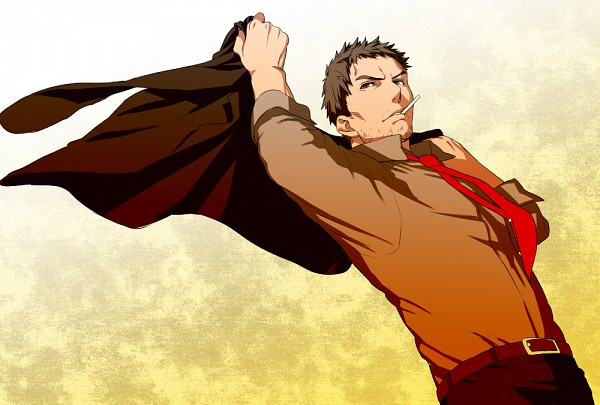Tags: Anime, Pixiv Id 119388, Shin Megami Tensei: PERSONA 4, Doujima Ryoutarou, Stubble