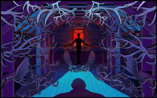 Tags: Anime, Pixiv Id 17265769, Hannibal (TV Series), Dr. Hannibal Lecter, Steel Beam, Pixiv, Fanart, Fanart From Pixiv
