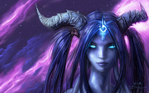 Tags: Anime, Yao Ren, Warcraft, Draenei, Wallpaper, Fanart