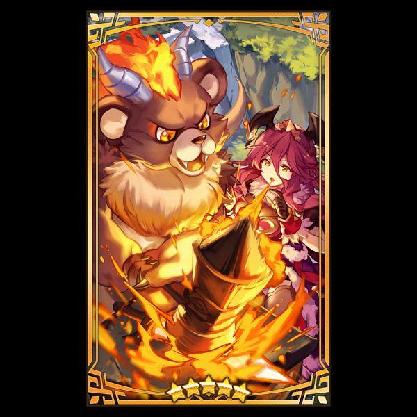 Tags: Anime, Lee Hyeseung, Cygames, Nintendo, Dragalia Lost, Mym, Brynhildr (Dragalia Lost), Arctos, Official Art, Official Card Illustration