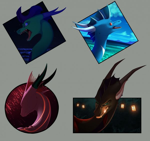 Tags: Anime, The Legend Of Spyro, Skye (Oc), Solna, Seasaltshrimp, deviantART