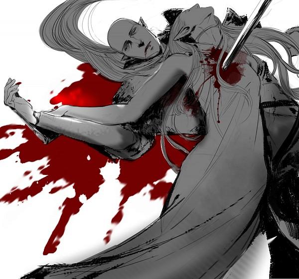 Tags: Anime, Nanananananablr, Dragon Age: Inquisition, Solas, The Inquisitor, Tumblr, Fanart