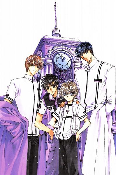 Tags: Anime, CLAMP, Sohryuden, Ryudou Hajime, Ryudou Amaru, Ryudou Owaru, Ryudou Tsuzuku, Official Art, Scan, Dragon Brothers