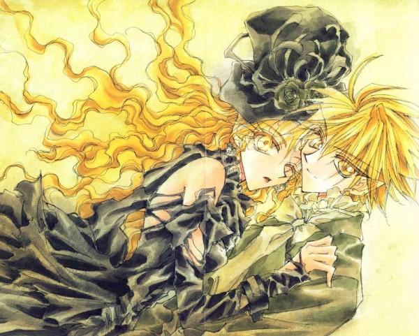 Tags: Anime, Ohkami Mineko, Dragon Knights, Cesia, Rath Illuser, Official Art