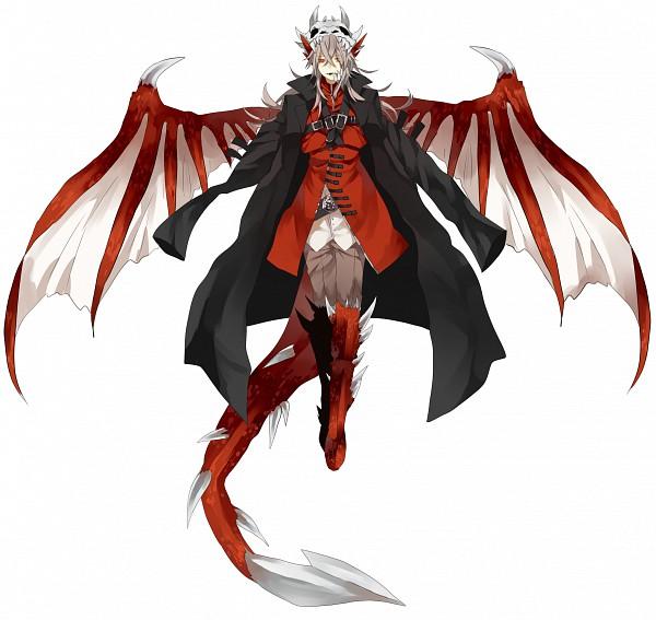 Dragon person kemonomimi zerochan anime image board - Anime boy dragon ...