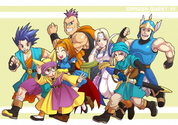 Tags: Anime, Dragon Quest VI, Barbara (Dragon Quest VI), Hero (Dragon Quest Vi), Chamorro, Amos, Mireille (Dragon Quest VI), Terry (Dragon Quest VI), Hassan
