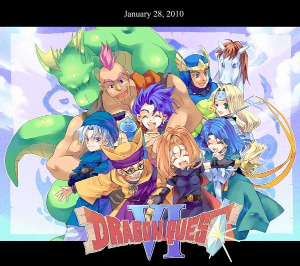 Tags: Anime, Dragon Quest VI, Mireille (Dragon Quest VI), Terry (Dragon Quest VI), Barbara (Dragon Quest VI), Hero (Dragon Quest Vi), Amos, Hassan