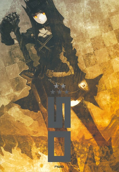Tags: Anime, Huke, Black★Rock Shooter, PIC5, Dragon Slayer, Broadsword, Mobile Wallpaper, Pixiv, Comic Market 75, Scan