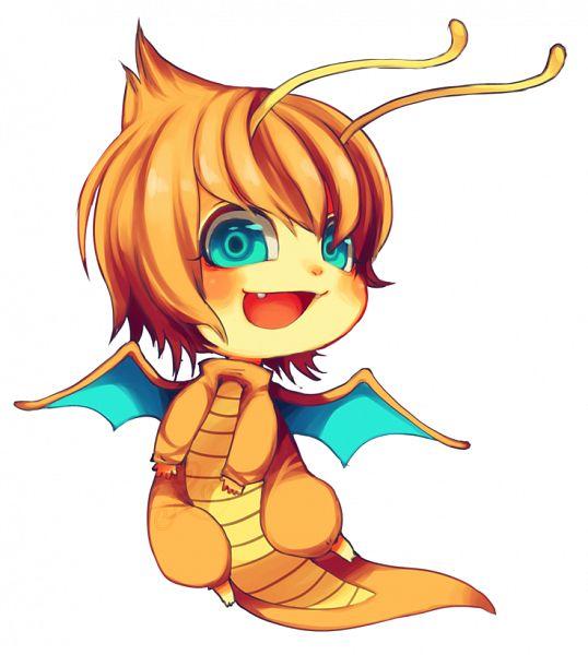 Tags: Anime, KiwiesruleXD, Pokémon, Dragonite, Dragon Wings, deviantART, Fanart From DeviantART, Fanart