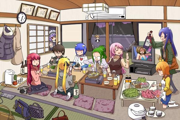 Tags: Anime, Dream Club, Amane (Dream Club), Mari, Mian, Futaba Riho, Setsu (Dream Club), Rui (Dream Club), Airi (Dream Club), Reika (Dream Club), Nao, Mio (Dream Club), Party