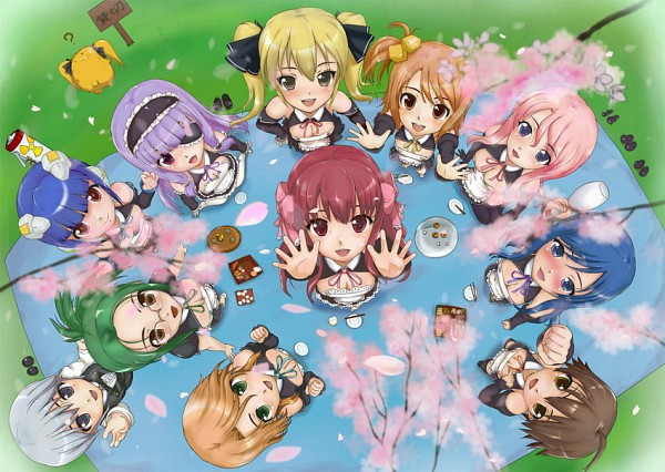 Tags: Anime, Dream Club, Airi (Dream Club), Reika (Dream Club), Mio (Dream Club), Amane (Dream Club), Nao, Mari, Mian, Futaba Riho, Receptionist (Dream Club), Setsu (Dream Club), Rui (Dream Club)