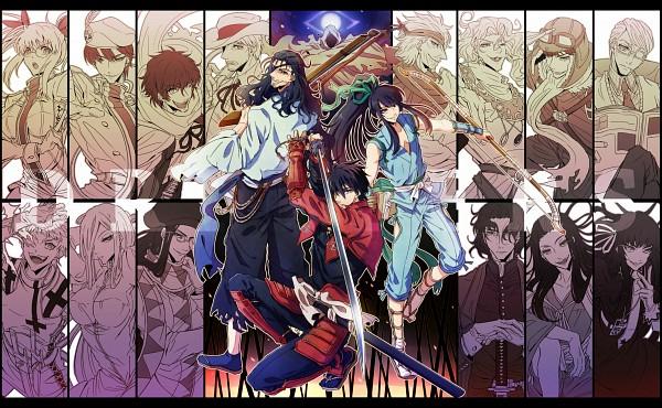 Tags: Anime, yukihime, Drifters (Manga), Hannibal, Anastasia Nikolaevna Romanova (Drifters), Naoshi Kanno, Murasaki (Drifters), Sundance Kid, Oda Nobunaga (Drifters), Easy, Butch Cassidy, Hijikata Toshizo (Drifters), Shimazu Toyohisa