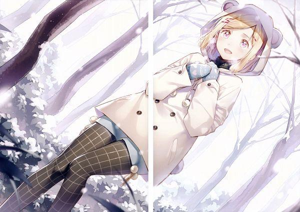 Tags: Anime, Ds Mairu, Rainbow Note, Checkered Legwear, Crease, Original, Comic Market 91, Scan