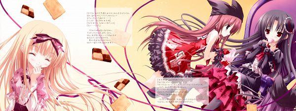 Tags: Anime, Tinkerbell, Tinkle, Byakuya-Chakai, Drink Me, Facebook Cover, Comic Market 75
