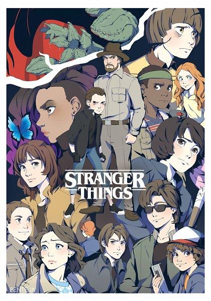 Dustin Henderson (Henderson Dustin) - Stranger Things