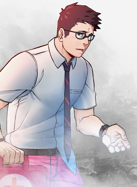 Tags: Anime, Pixiv Id 14731591, Dead by Daylight, Dwight Fairfield, Fanart From Pixiv, Pixiv, Fanart, Fairfield Dwight