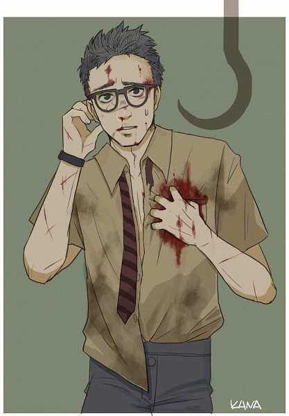 Tags: Anime, Pixiv Id 112117, Dead by Daylight, Dwight Fairfield, Fanart From Pixiv, Pixiv, Fanart, Fairfield Dwight