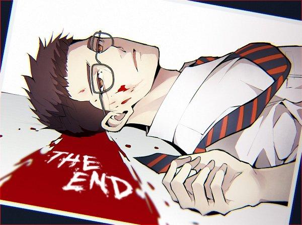 Tags: Anime, Sakuyamochi, Dead by Daylight, Dwight Fairfield, Pixiv, Fanart, Fanart From Pixiv, Fairfield Dwight