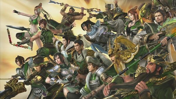 Tags: Anime, Dynasty Warriors, Pang Tong, Jiang Wei, Guan Suo, Yue Ying, Zhuge Liang, Zhang Fei, Ma Dai, Xing Cai, Wei Yan, Guan Yu, Liu Shan