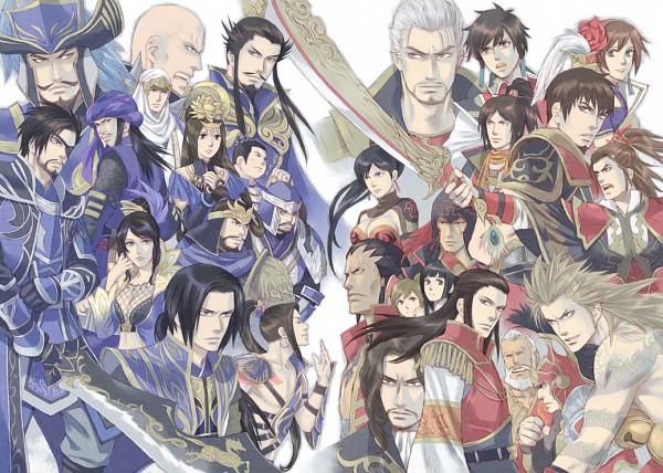 Tags: Anime, Hitaki, Dynasty Warriors, Sengoku Musou, Ding Feng, Da Qiao, Xiahou Dun, Huang Gai, Zhou Yu, Cao Cao, Jia Xu, Zhen Ji, Zhou Tai