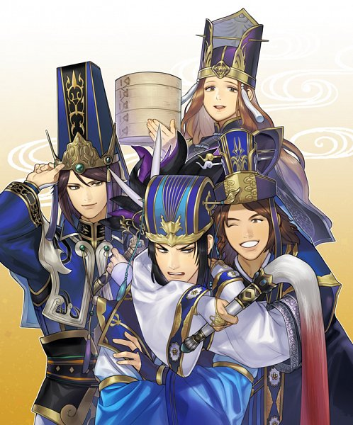 Tags: Anime, Pixiv Id 1786308, Dynasty Warriors, Zhang Chunhua (Dynasty Warriors), Sima Yi, Sima Zhao, Sima Shi, Pixiv, Fanart From Pixiv, Fanart