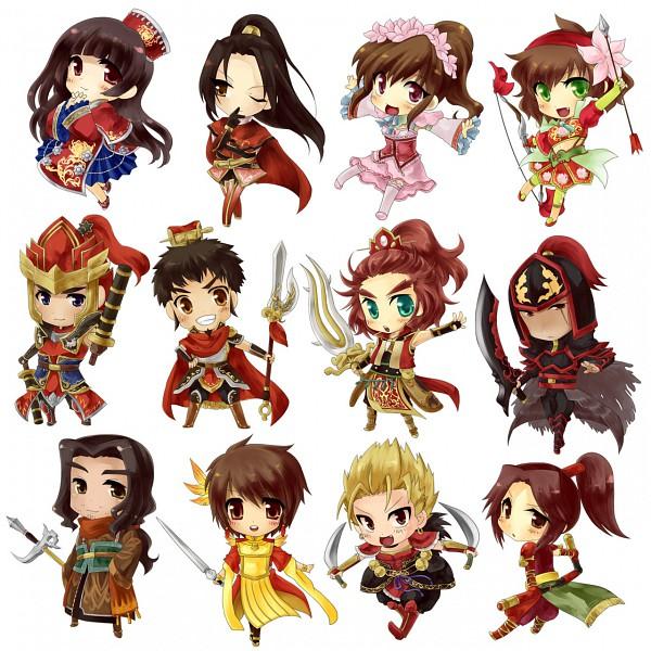 Tags: Anime, Koei, Dynasty Warriors, Ling Tong, Sun Shang Xiang, Lu Meng, Da Qiao, Sun Quan, Zhou Yu, Xiao Qiao, Gan Ning, Sun Ce, Zhou Tai