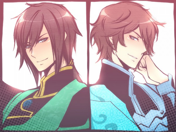 Tags: Anime, Akz, Koei, Dynasty Warriors, Jiang Wei, Zhong Hui, Fanart