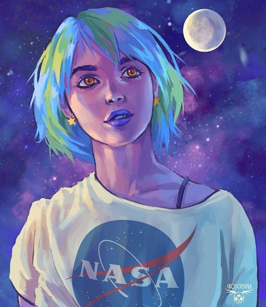 Tags: Anime, Koscheivna, Earth-chan, Purple Lips, Nasa