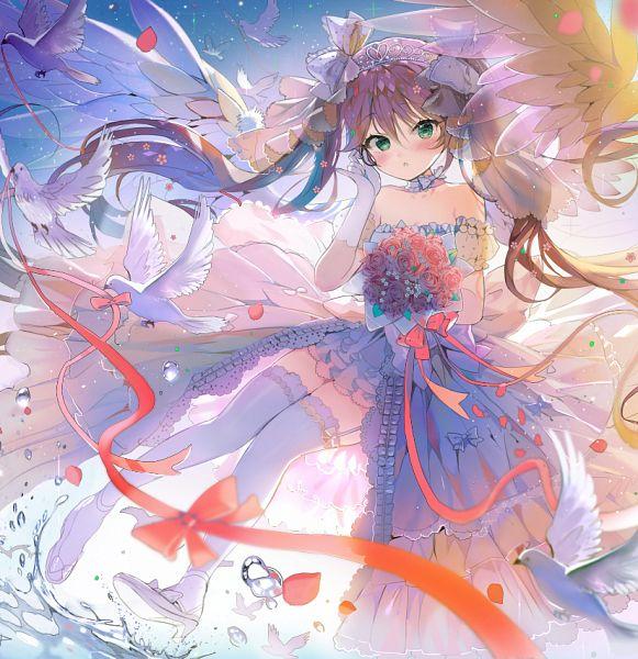 Tags: Anime, Drpow, repi, Gakkou Gurashi!, Ebisuzawa Kurumi, White Bird, PNG Conversion