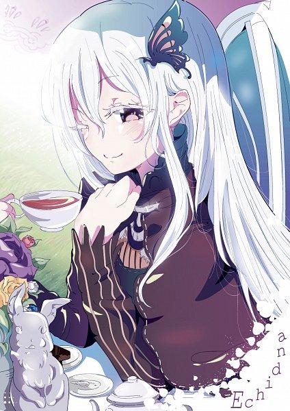 Tags: Anime, Pixiv Id 13536248, Re:Zero Kara Hajimeru Isekai Seikatsu, Echidna (Re:Zero), Fanart From Pixiv, Pixiv, Fanart