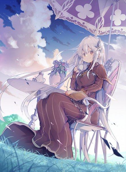 Tags: Anime, Pixiv Id 1992173, Re:Zero Kara Hajimeru Isekai Seikatsu, Echidna (Re:Zero), Fanart From Pixiv, Pixiv, Fanart